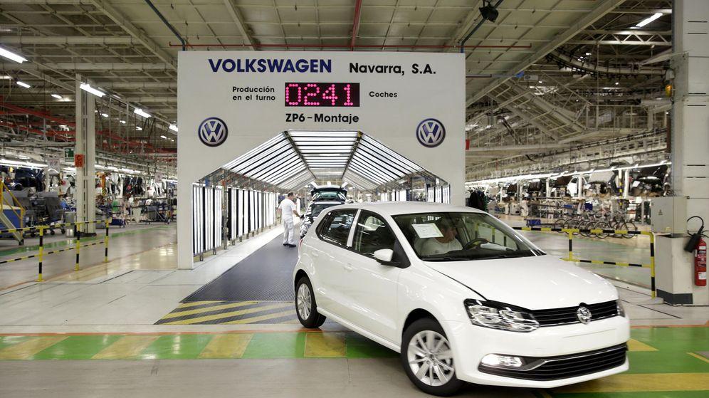 Foto: Planta de Volkswagen en Landaben, Navarra (Villar López/EFE)