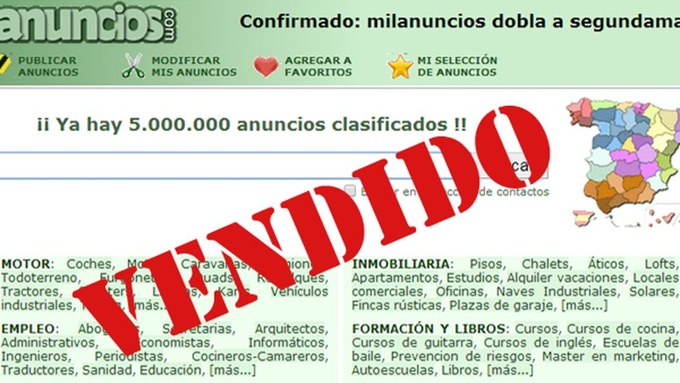 Milanuncios, una 'startup' española de ocho empleados derrota a una multinacional
