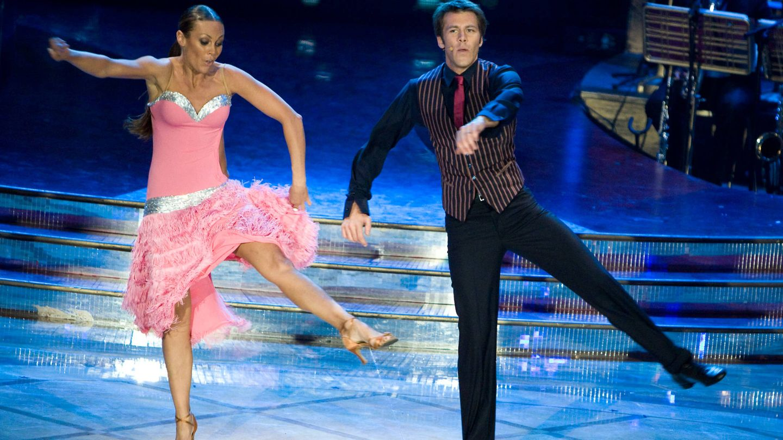 Emanuele Filiberto en 'Strictly Come Dancing'. (Getty)