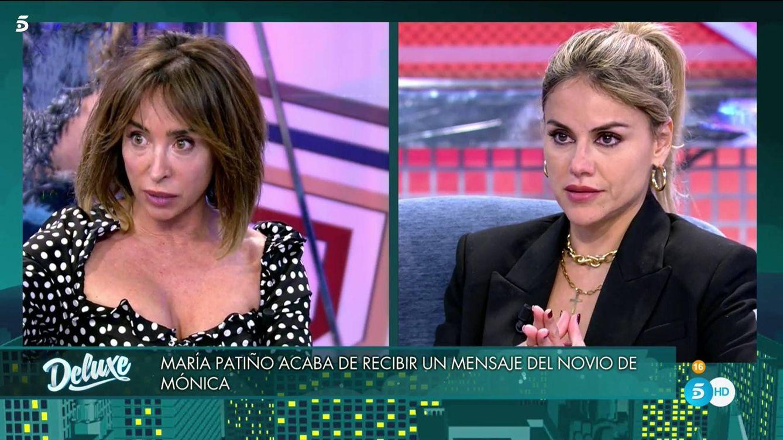 'Deluxe': María Patiño recibe una querella en directo por decir mentiras