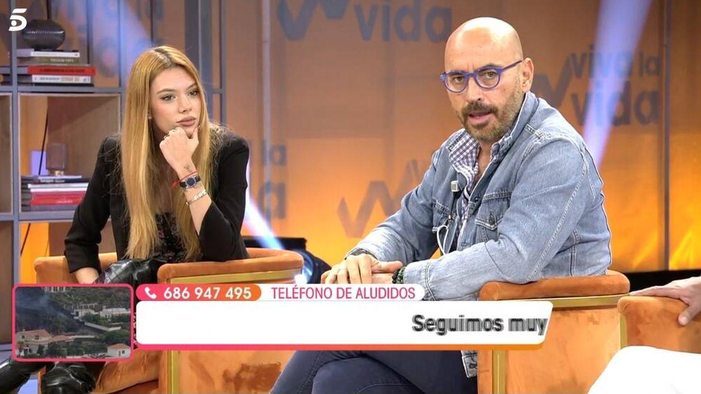 Alejandra y Diego, en 'Viva la vida'. (Telecinco).