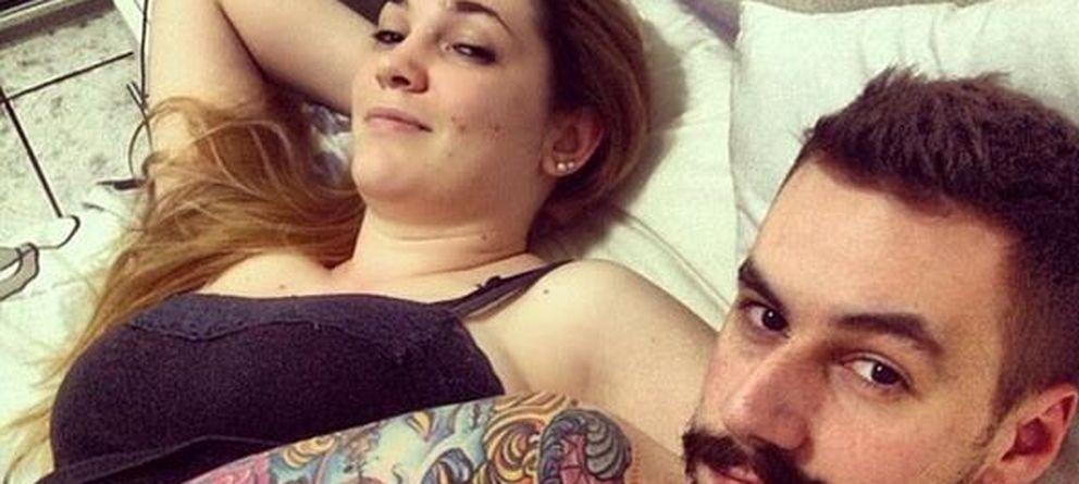 Foto: Autofoto después de mantener sexo (selfie aftersex) colgada en la red social Instagram por uno de sus usuarios.