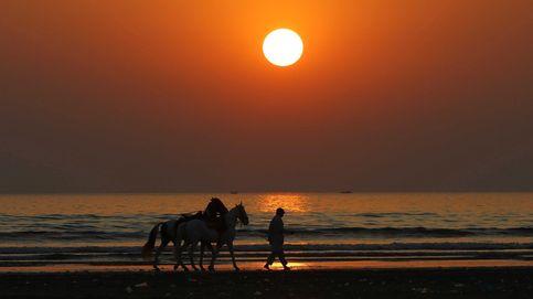 Puesta de sol en Karachi