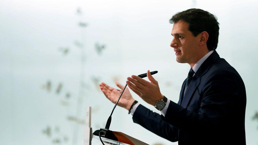 Foto: El presidente de Ciudadanos, Albert Rivera, hoy en Madrid.(EFE)