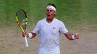 Rafa Nadal gana a Querrey y jugará contra Federer en Wimbledon 11 años después