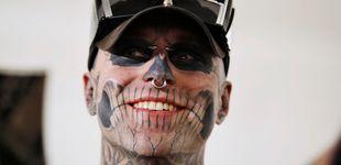 Post de Hallan muerto al modelo Rick Genest, conocido como 'The Zombie Boy'