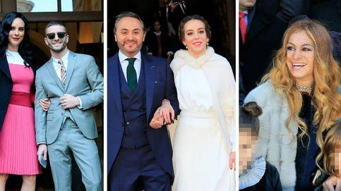 Paulina Rubio en Madrid en la boda de su hermano con la sobrina de Escrivá de Balaguer