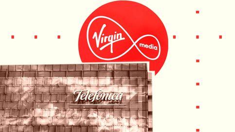 Telefónica recibirá entre 3.500 M y 8.000 M por la fusión de su filial UK con la de Virgin