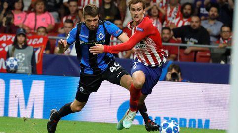 Brujas - Atlético de Madrid: horario y dónde ver en TV y online la Champions