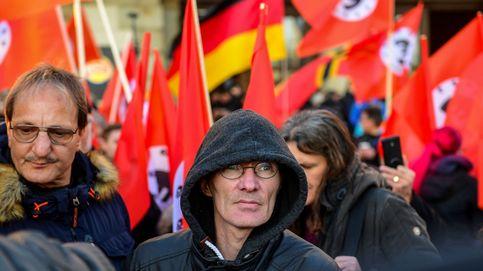 Protestas en Alemania contra Merkel