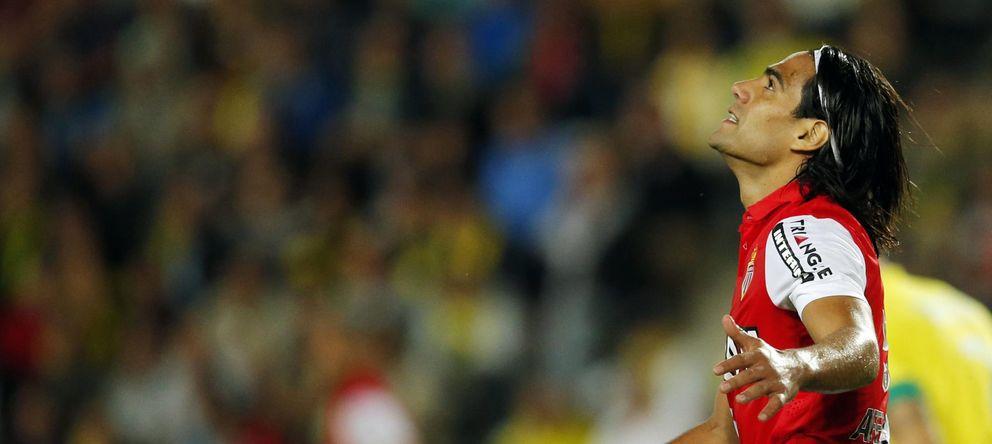Foto: Falcao celebra un gol marcado con el Mónaco (Reuters)