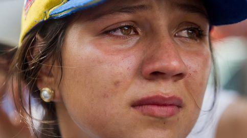Homenaje al fallecido en las protestas de Caracas