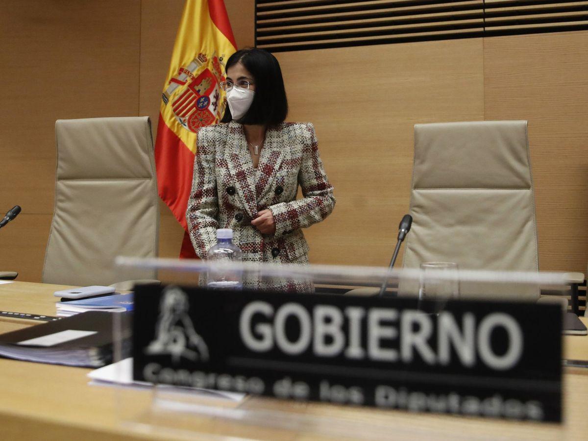Foto:  La nueva ministra de Sanidad, Carolina Darias. (EFE)