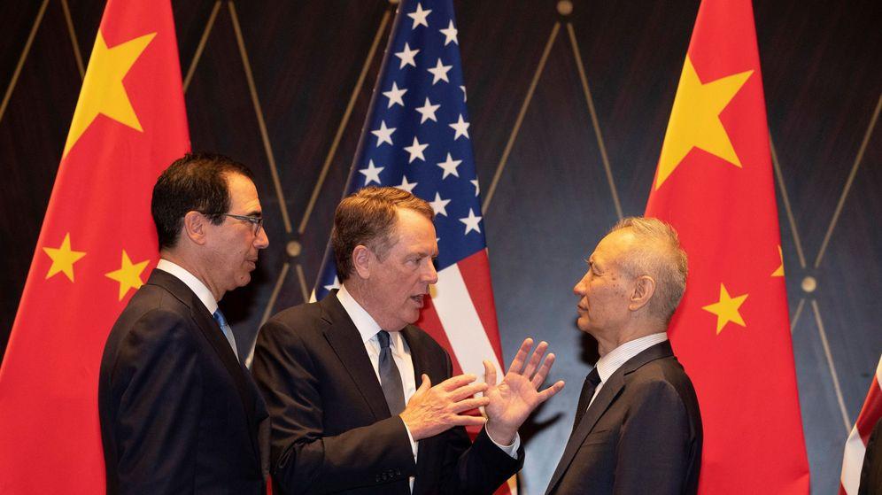 Foto: Fotografía de archivo de los encuentros entre China y EEUU (Reuters)