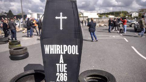 Protesta de trabajadores de Whirlpool
