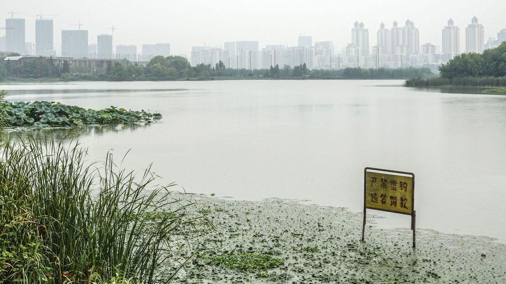 Foto: Vista de Wuhan. (EFE)