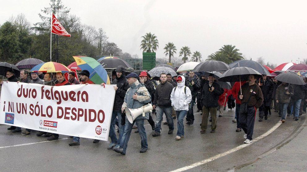 Duro Felguera prepara una reducción de 600 trabajadores, el 25% de la plantilla