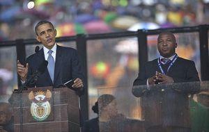 El falso interprete del funeral de Mandela ayudó en un linchamiento