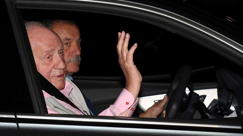 El rey Juan Carlos, antes de un ingreso hospitalario. (EFE)