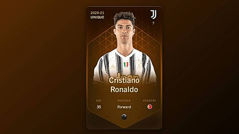 Locos por el NFT: por qué este cromo de Cristiano Ronaldo se vendió por 242.500€