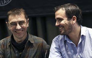 """Guante blanco entre Monedero y Alberto Garzón: """"Pareces de Podemos""""…""""Y tú, de IU"""""""