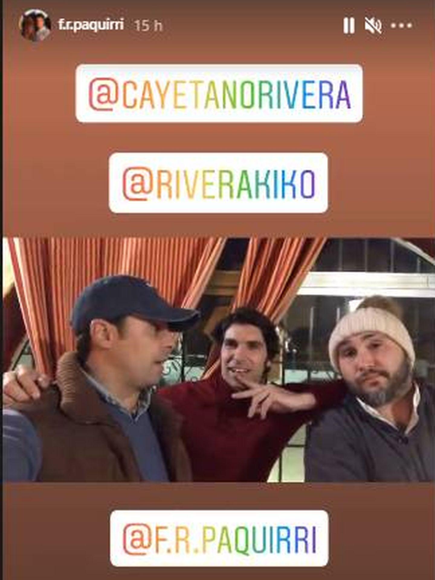 Los hermanos Rivera felicitando la Navidad. (IG)