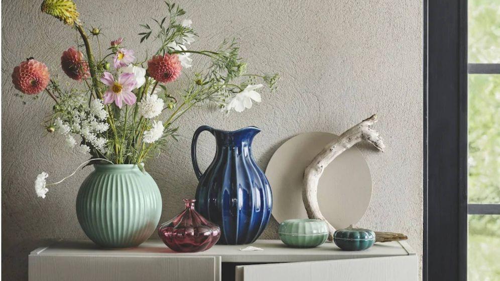 Foto: Jarrones de Ikea perfectos para tus flores. (Cortesía)
