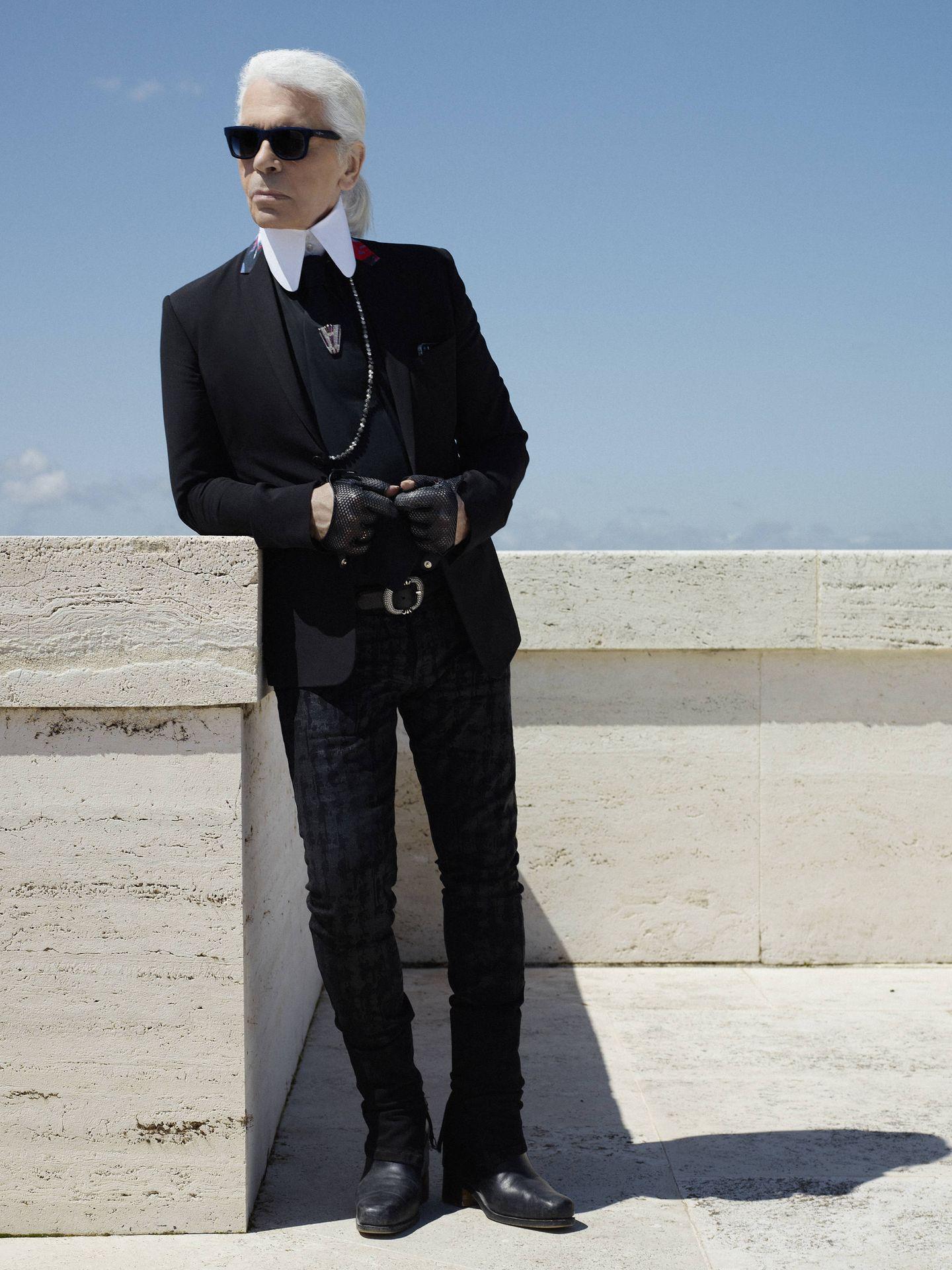 Karl Lagerfeld. (Fendi)