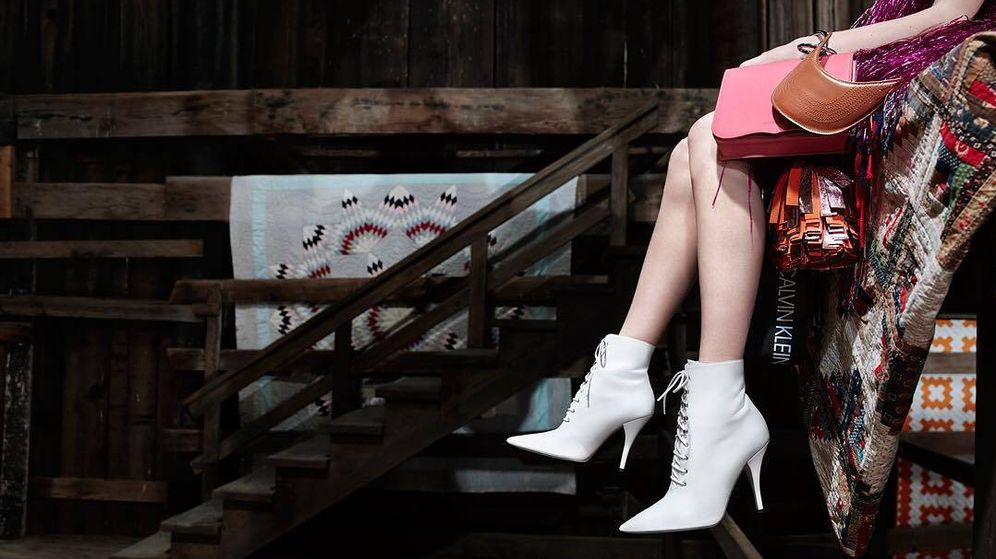 Foto: Imagen de la campaña Primavera-Verano 2018 de Calvin Klein.