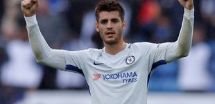 Post de Morata salva al Chelsea el día que el Bernabéu más lo echó en falta