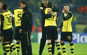 El Borussia hunde a Benítez en la noche que Mou tropieza en Basilea