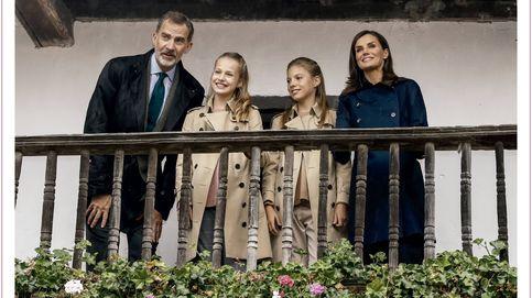 El debut de Leonor, protagonista de la felicitación de Navidad de los Reyes