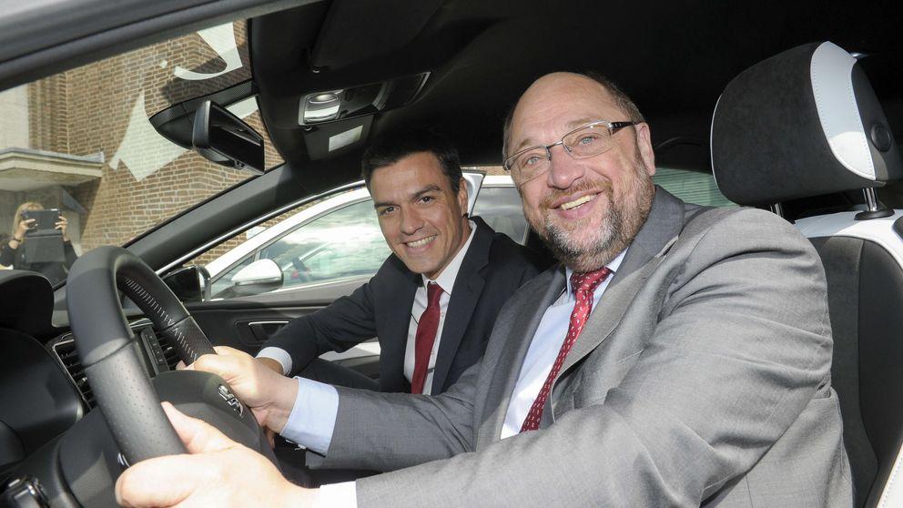 Sánchez inicia en Alemania una gira europea para defender España frente a los 'indepes'