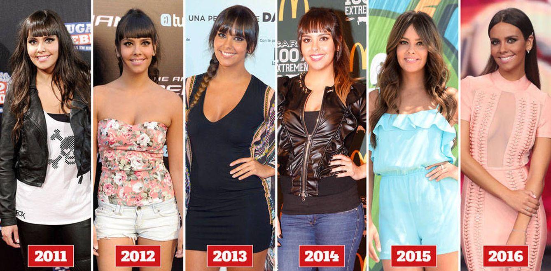 Foto: La evolución de Cristina Pedroche a lo largo de los años (Fotomontaje: Vanitatis)