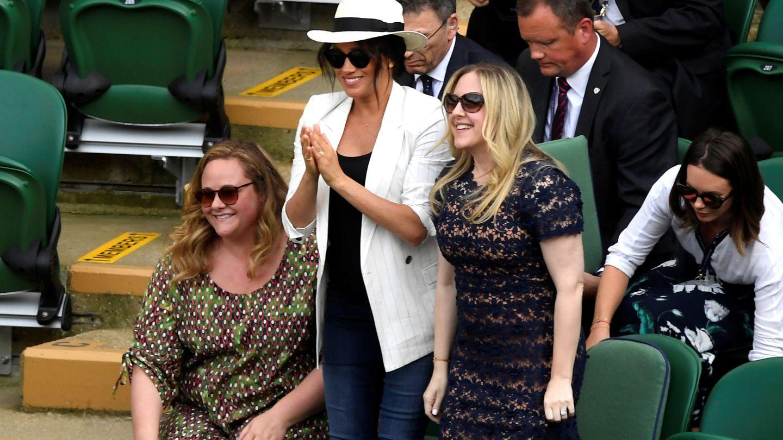 Meghan Markle en Wimbledon. (Reuters)