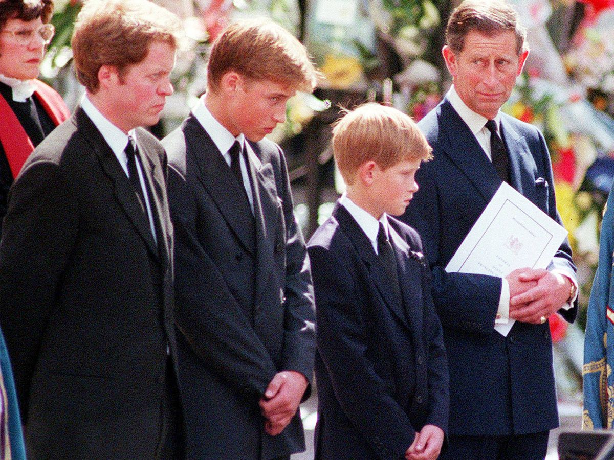 Foto: Funeral de Diana de Gales. (Atresmedia)