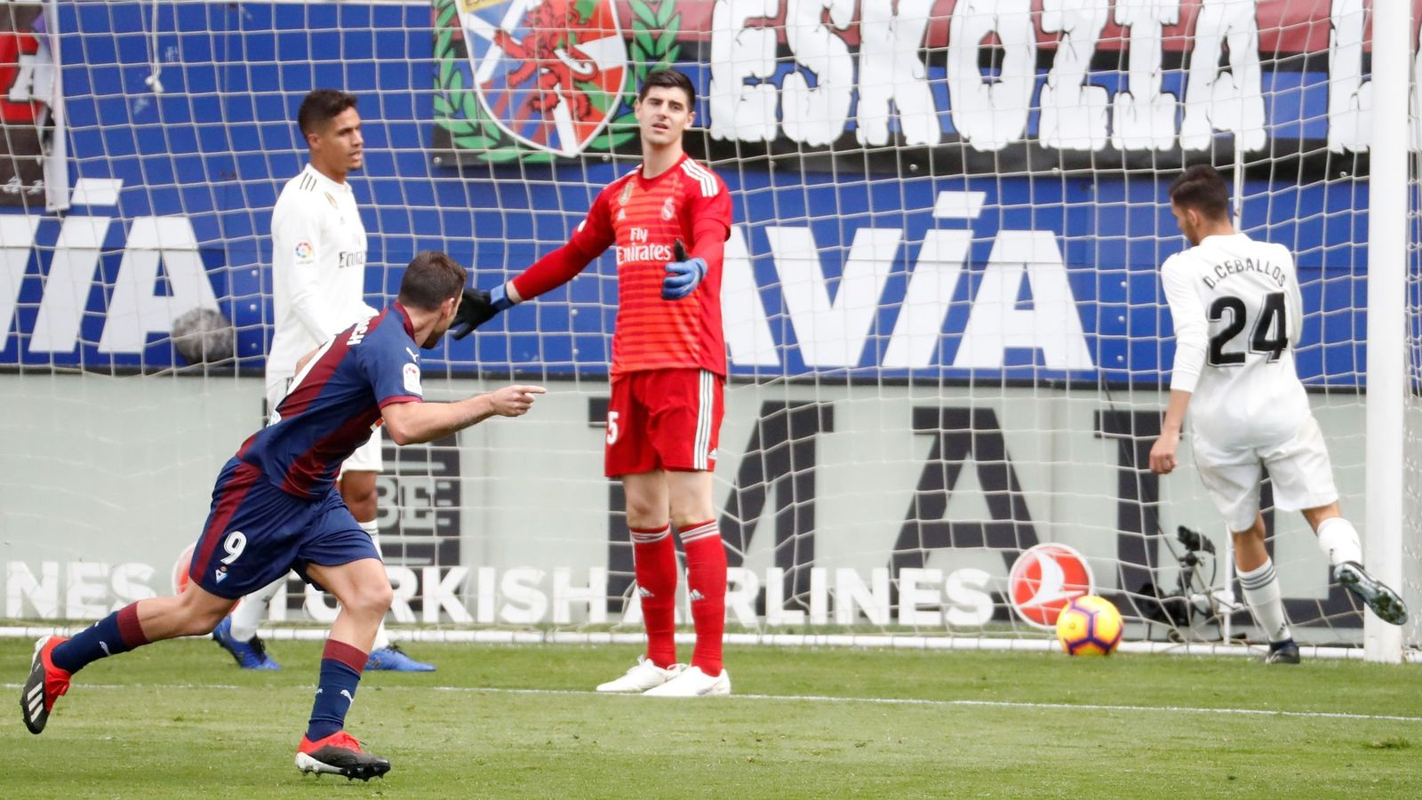 Eibar Real Madrid