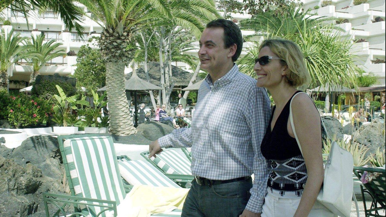 Zapatero y Sonsoles en una imagen de archivo. (Gtres)