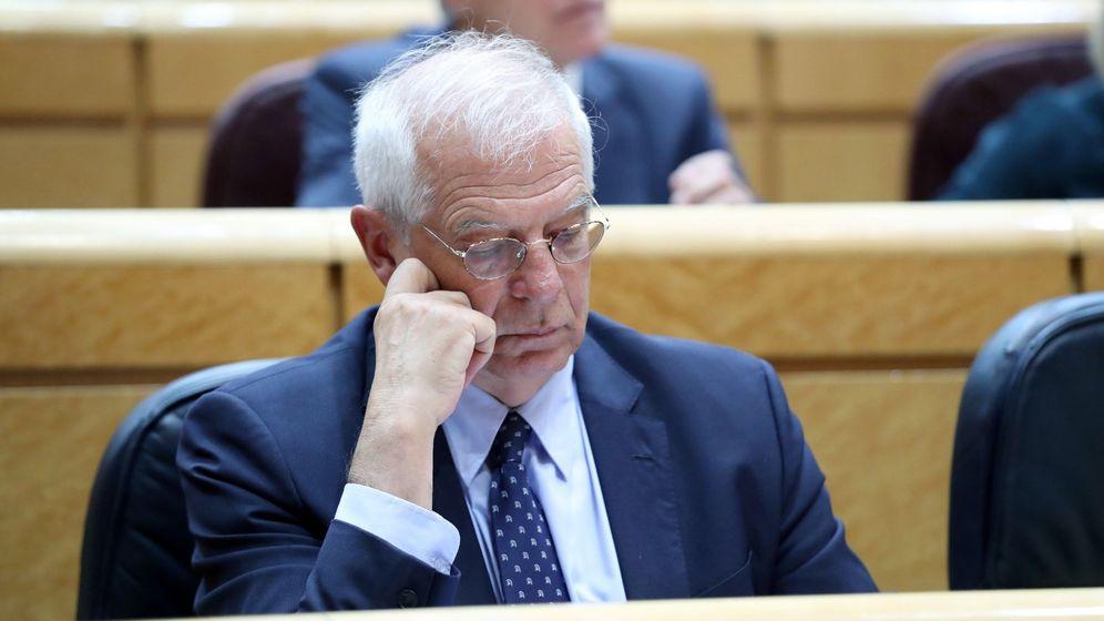 Foto: El ministro de Exteriores, Josep Borrell