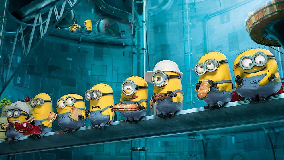 Los Minions y otros secundarios animados que se comieron al protagonista