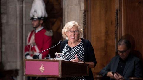 Carmena pide unir Barcelona y Madrid en el pregón de las fiestas de la Mercè