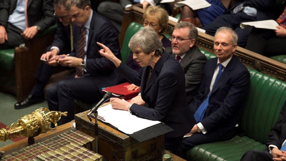 Foto: Theresa May. (EFE)
