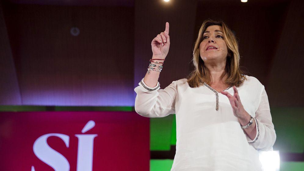 Foto: Susana Díaz en un acto de precampaña. (Efe)