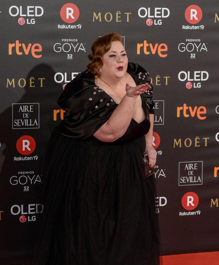 Foto: Itziar Castro, en los Premios Goya. (Getty)