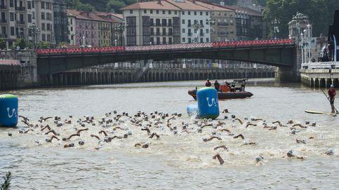 Una enfermedad por orina de animales deja en tierra a la Travesía a Nado de Bilbao