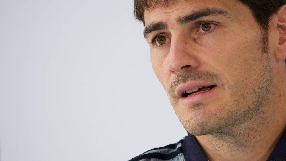 Foto: Iker Casillas en una imagen de archivo. (Getty)