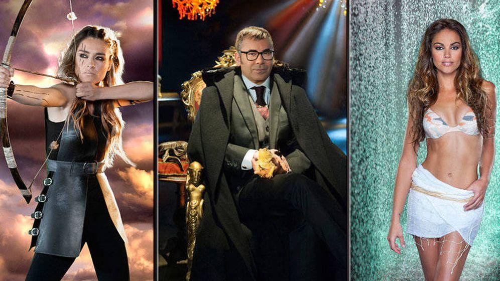 Foto: El trío de presentadores de la nueva edición de 'Supervivientes'.