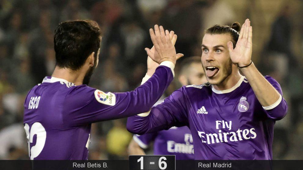 Isco y el Real Madrid se quitan las penas y olvidan la crisis con una goleada