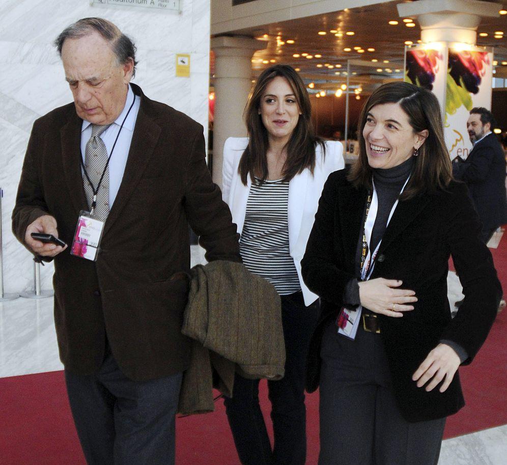 Foto: Falcó junto a sus hijas Tamara y Alejandra en una imagen de archivo (Gtres)