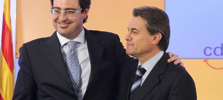 Foto: Fotografía de archivo de Artur Mas y su ex hombre de confianza David madí. (EFE)
